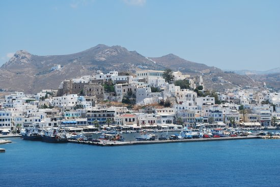 Naxos Kalimera Hotel: Chora from the ferry