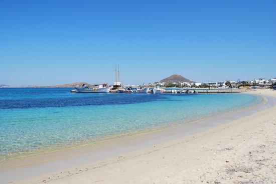 Naxos Kalimera Hotel: 'The port', Aghia Anna