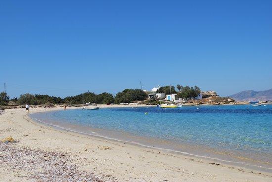 Naxos Kalimera Hotel: The beach, Aghia Anna