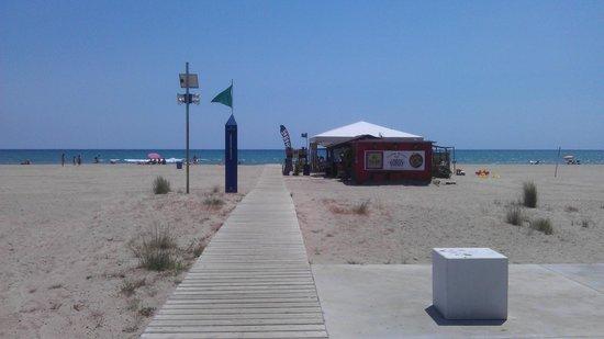 Best Western Hotel Mediterraneo : Strandbar