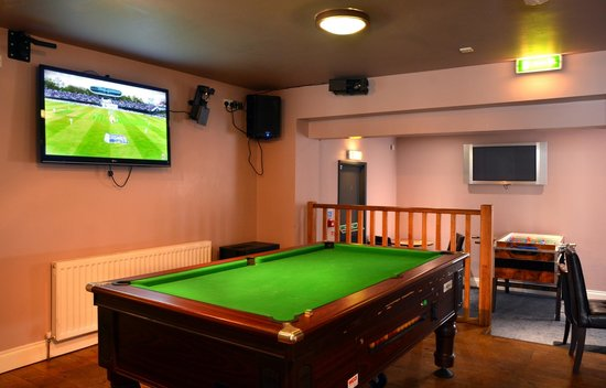 Stones Hotel, Bar and Restaurant : Games Area
