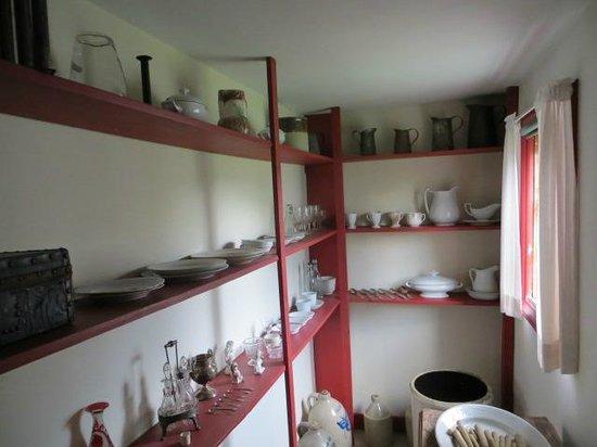 Calvin Coolidge Homestead: room in homestead