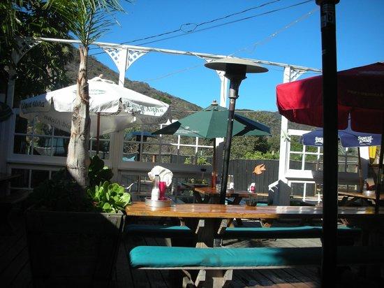 Reel Inn: Terraza