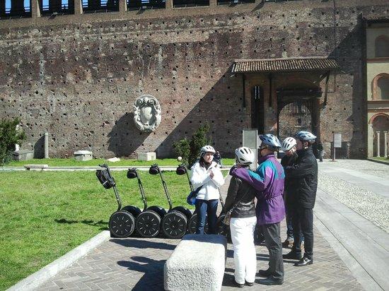 Italy Segway Tours: Castello Sforzasco Milan Segway tour