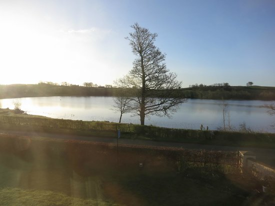 Roughan Lough B&B: sunrise from the upstairs room.