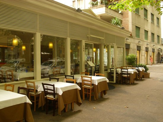 Celestina ai Parioli: restaurant outdoors