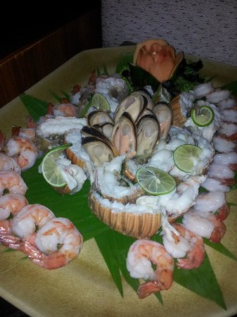 Centara Villas Samui: Seafood buffet - again