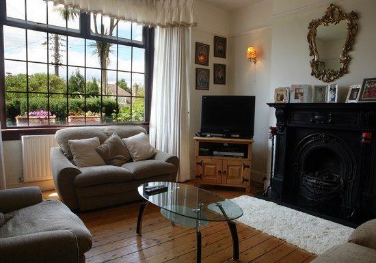 Santa Cruz B&B : the sitting room