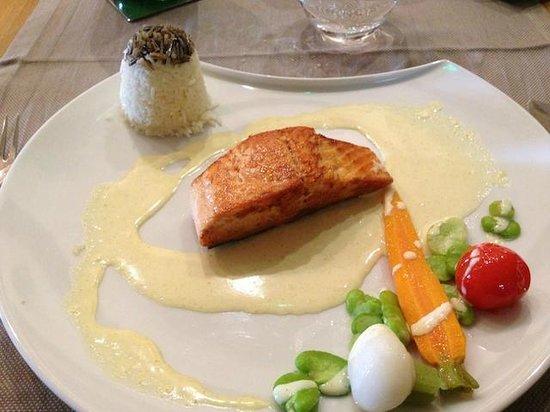 Darme de saumon lesage - Restaurant lesage sarzeau ...