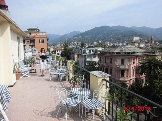 Hotel Giulio Cesare : View from the top floor