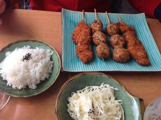 Sushi Zan : menu du midi chaud