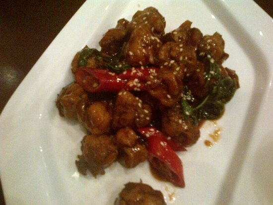 ZaoZiShu (JiangNing): Mushrooms with basil - OMG!!!! So good!!!!