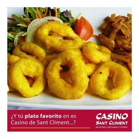 Casino Sant Climent: Calamar romana