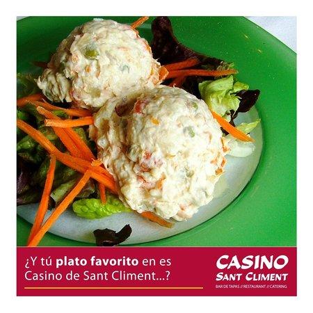 Casino Sant Climent: Ensaladilla