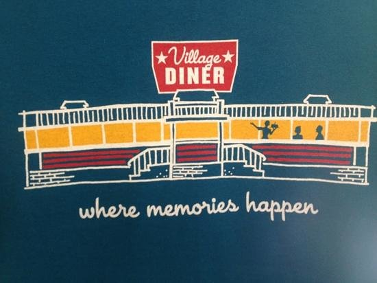 Village Diner: our new tshirt a