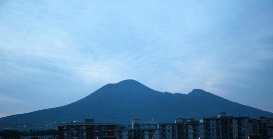 Hotel Visagi: Veduta del Vesuvio