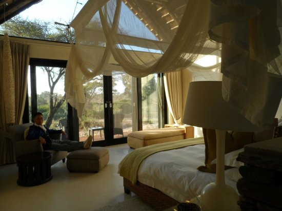 Lion Sands River Lodge : room with a view