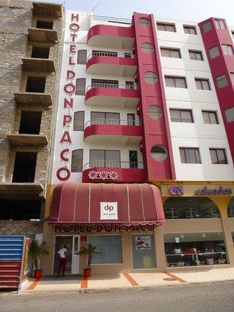 Don Paco Hotel : Fachada do hotel