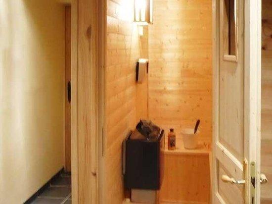 Ferme Du Grand Essert: Le sauna, un must après le ski