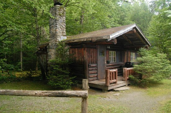 Rustic Log Cabins Campground Reviews Deals Lisbon Nh
