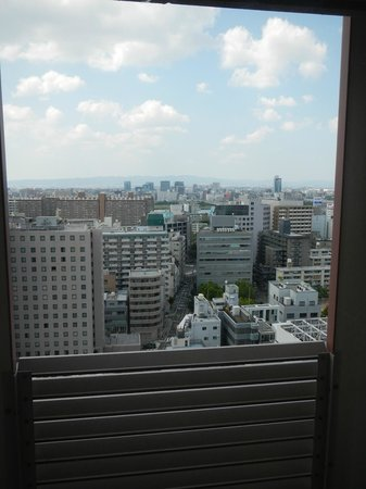 Hearton Hotel Kitaumeda: View from our room on Level 18