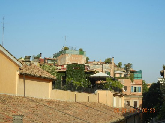 Rooftops from Perla Apartment, Ripetta 25, Rome 1