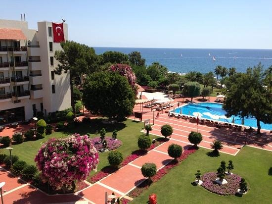 Club Med Kemer: The Club Med, Hotel Gardens and view.