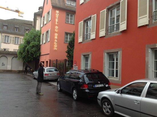 Hotel du Dragon : Vista del hotel