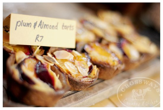 Crossways Country Kitchen: Plum & almond tarts