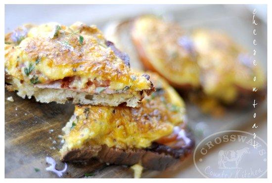 Crossways Country Kitchen: Trevor's cheese on toast