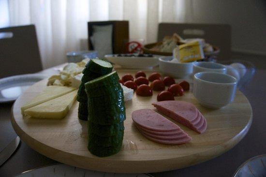 Rezidans La Vue: Breakfast