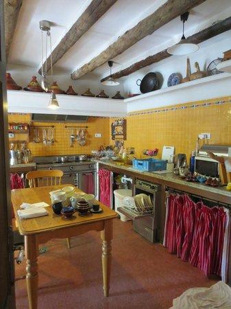 Cortijo La Fe: The kitchen