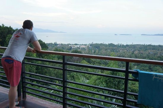 Mantra Samui Resort: view from our Cozy