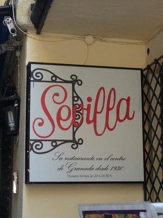 Restaurante Sevilla Bild