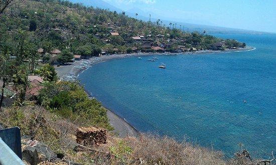 Manis Homestay Amed Bali: Uitzicht Amed