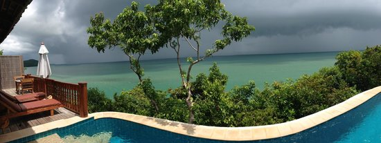 Santhiya Koh Yao Yai Resort & Spa : vue piscine