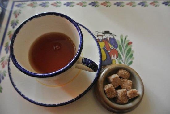 CREPE DENTELLE : Le thé avec sucre