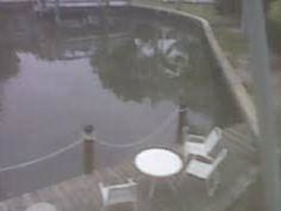 Hidden Harbor Suites : view from room of canal and common area