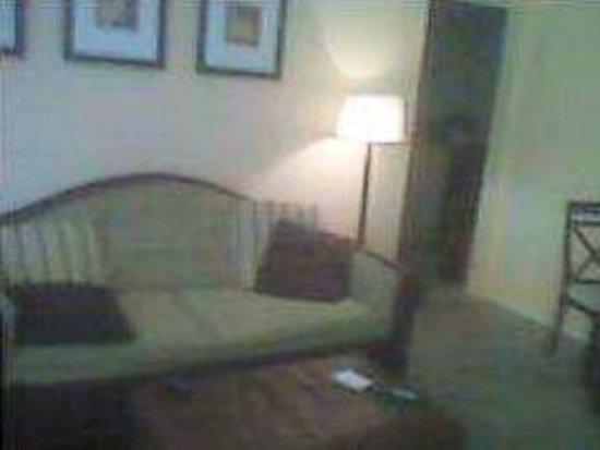 Hidden Harbor Suites : view of living room when entering room