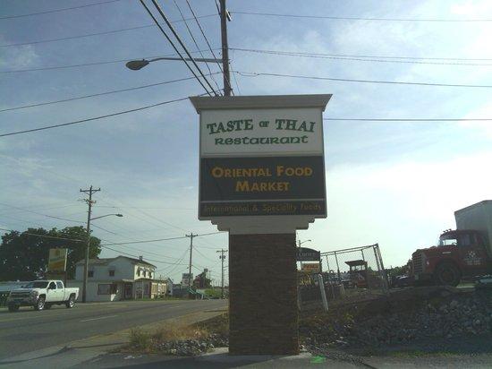 Taste of Thai: name