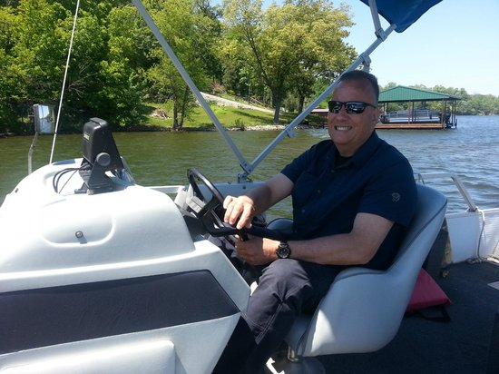 Creal Springs, IL: great time on the lake