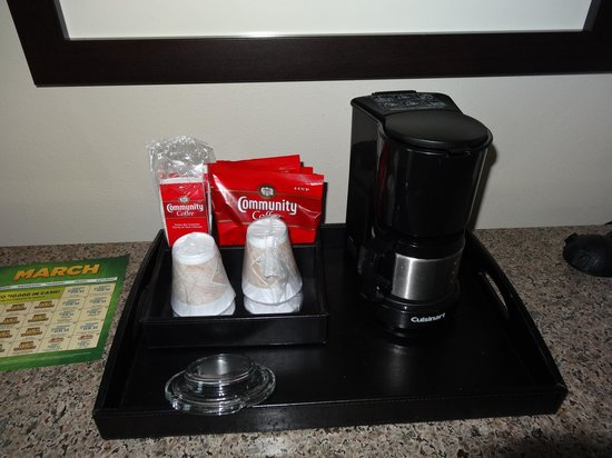Isle of Capri Casino Hotel Lake Charles: Isle of Capri Tower - Coffee Service