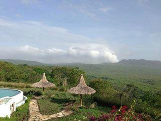 Hacienda Puerta Del Cielo Eco Spa : View at the hacienda
