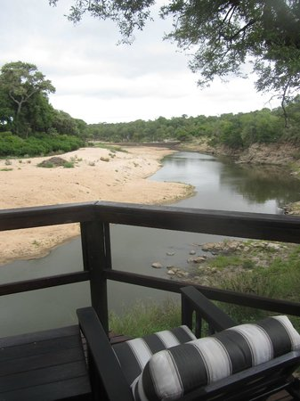 Hamiltons Tented Safari Camp: view from dining area
