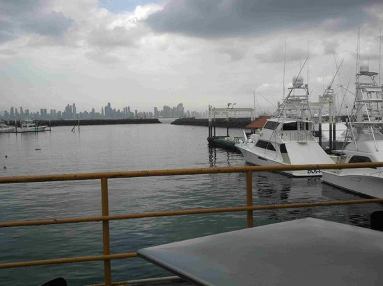 Panama Skyline From Alberto's Restaurant