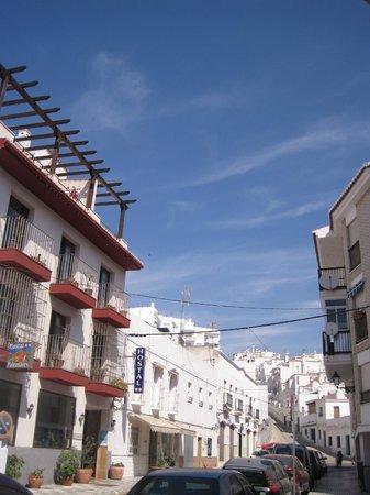Hostal Palomares: Exterior hostal