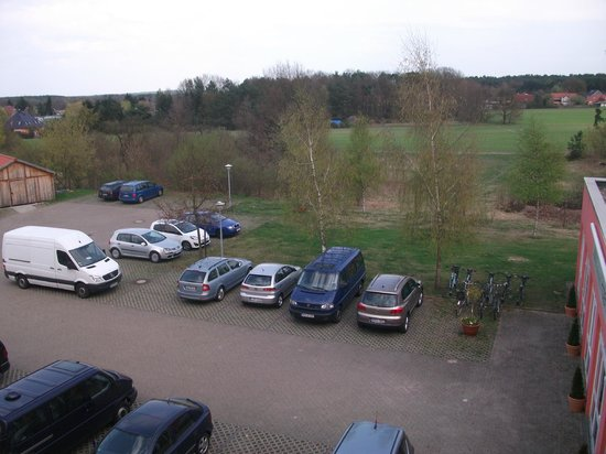 SensConvent Hotel Michendorf : Blick aus dem Zimmer