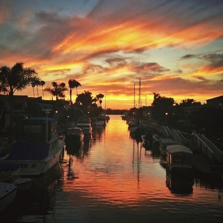 Naples Island: Naples sunset