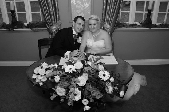 Lenwade Country House Hotel: The cermony