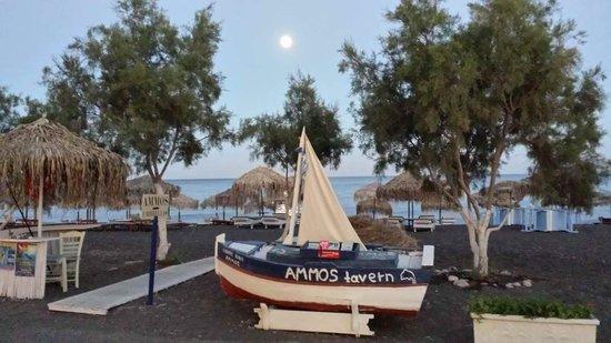 Ammos Restaurant: Die Aussicht